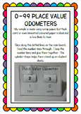 0 - 99 Place Value Odometers