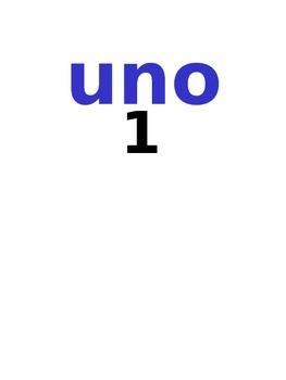 NUMEROS  DE  0  A  1000