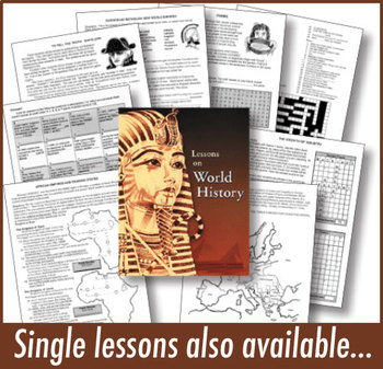 150 Favorite Lessons! Early Civilization-Modern Times, WORLD HISTORY CURRICULUM