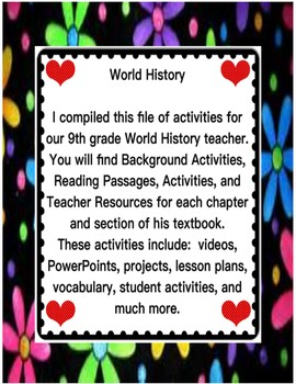 World History UNIT 2 Chapters 7 and 8