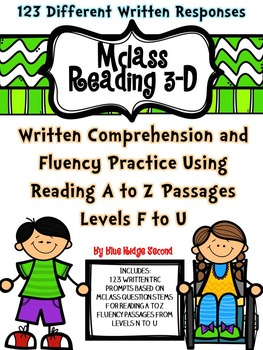 mClass Reading 3D TRC Written Comprehension Using Reading A-Z Fluency Level F-U
