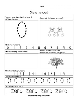 0 to 10 Common Core Number Skills Worksheets