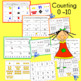 Counting Worksheets and Center Activities for numbers 0 -10