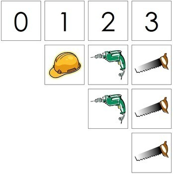 0 to 10 Number Cards and Counters - Tools