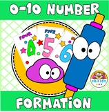 Number 0 to 10  Formation & Play-dough Mats Preschool and Pre-K