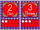 0 to 20 Number Cards for Classroom Display (Primary Polka Dot Background)