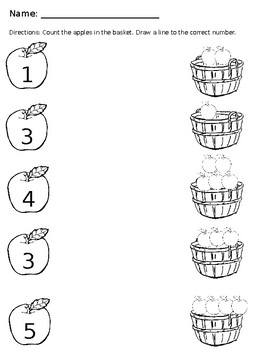 0 to 5 Number Sets