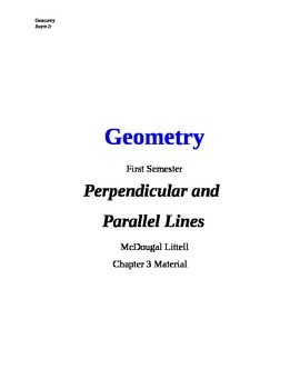 00 - Geometry Chapter Cover Pages