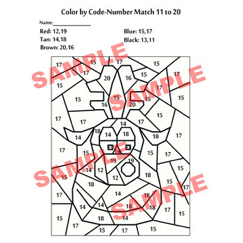 Color by Code: Christmas Reindeer Basic Math Facts