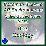003 Geology - Bozeman Science AP Environmental Guide & Key