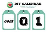 005 - DIY Calendar (Luggage Style)