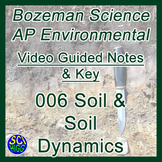 006 Soil & Soil Dynamics - Bozeman Science AP Environmental Guide & Key