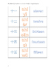 01-04 Numbers--pinyin and Chinese and English Numbers-  数字 拼音 描红 幼儿园 一年级