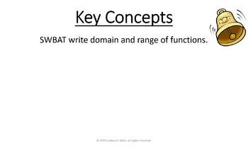 01-10 Domain and Range Game Presentation