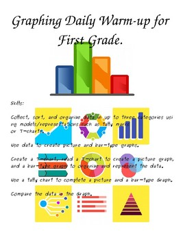 Unit 1 Graphing Daily Warm-­up Part I for  First Grade