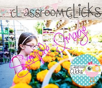 Girl in Garden Center Image_01: Hi Res Images for Bloggers & Teacherpreneurs