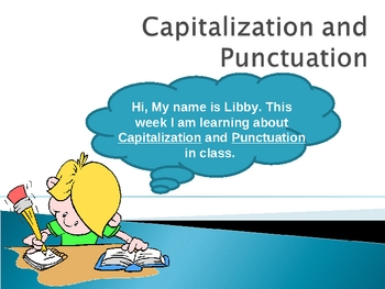021- ELA Punctuation and Capitalization (Grades 2-3)
