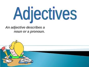 023 - ELA Adjectives - Grades 2-3