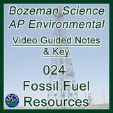 024 Fossil Fuel Resources - Bozeman Science AP Environmental Guide & Key