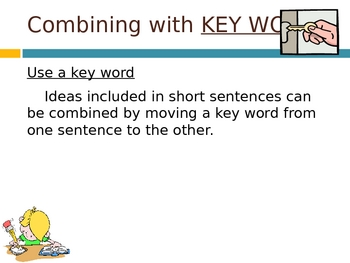 026 - ELA Combining Sentences