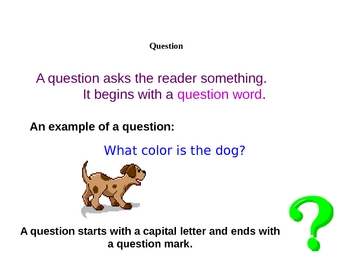 028 - ELA Questions and Statements