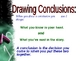 029 - ELA Drawing Conclusions