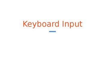 Python Code 03: Input
