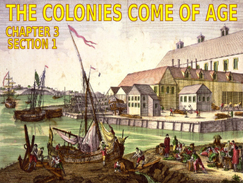 03 - The Colonies Come of Age - PowerPoint Notes