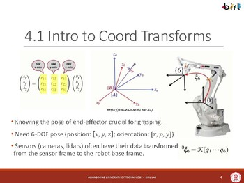 05. Coordinate Transforms in ROS