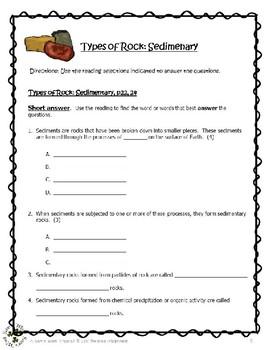 06 CD Rocks, Minerals, Fossils - Types of Rock, Sedimentary, Comp., p22-24