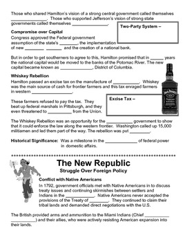 06 - The New Republic - Scaffold/Guided Notes (Blank and Filled-In)