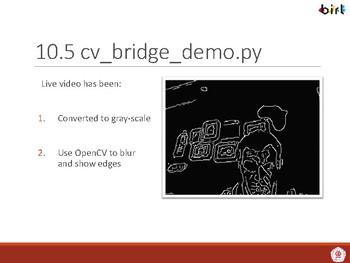 07b  OpenCV with ROS