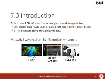 08. Depth Image and Point Clouds