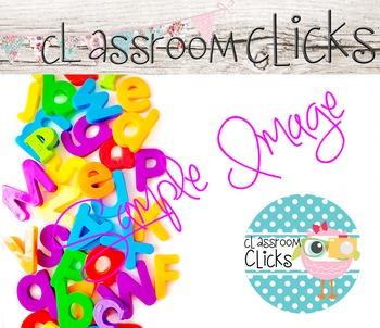 Bright Colors ABC Letters Image_08: Hi Res Images for Bloggers & Teacherpreneurs
