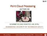 09. Point Cloud Processing