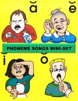 Phoneme Songs Mini-Set
