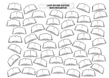 1,000 BOOKS BEFORE KINDERGARTEN TEMPLATE