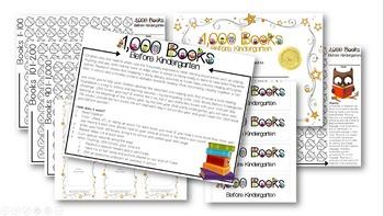 1,000 Books Before Kindergarten Resources