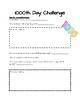 1,000 Day of School Math Challenges