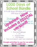 1,000th Day of School Bundle--Activities for the entire day in EVERY subject!
