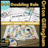 1-1-1 Doubling Rule for Orton Gillingham Instruction
