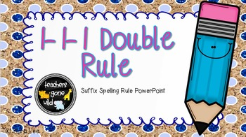 1-1-1 Doubling Suffix Rule PowerPoint