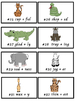 1-1-1 & Vowel or Consonant Suffixes Safari Card Game