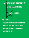 Angles and Line Segments PDF