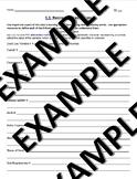 1-1 Business Organization: Financial Algebra