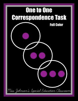 1:1 Correspondence Task 1-10