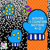 Winter 1-1 Counting - Mittens - #1-21
