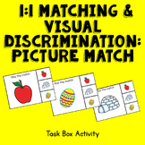 1-1 Matching and Visual Discrimination - Picture Task Box