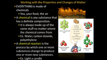 1.1 Physical and Chemical Changes Powerpoint & Guided Notes