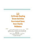 1.1 Third Grade Reading Street Activities with Charlie McButton